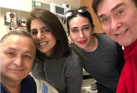 Neetu Kapoor Shared Photos from Hospital where Rishi Kapoor is receiving Treatment