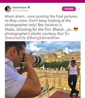 Salman Khan New Passion of Photography