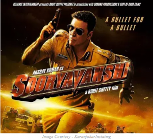 Film Suryavanshi's first look out