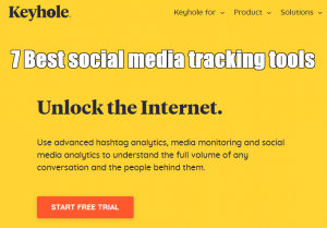 7 Best social media tracking tools