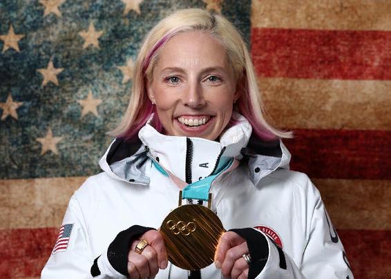 American skier Kikkan Randall