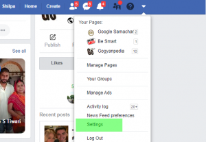 How to hide friends on facebook app -