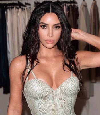Kim Kardashian has Shown the secret of Hot breast