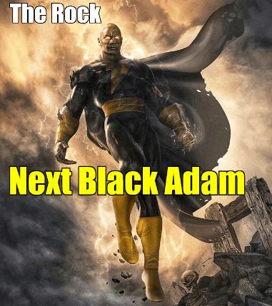 The rock next black adam
