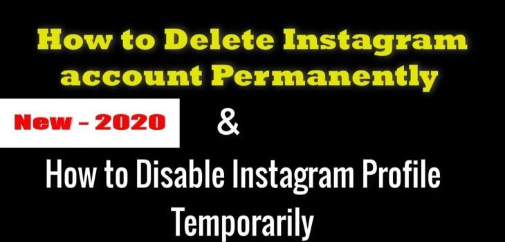 How to delete instagram account - how to delete instagram