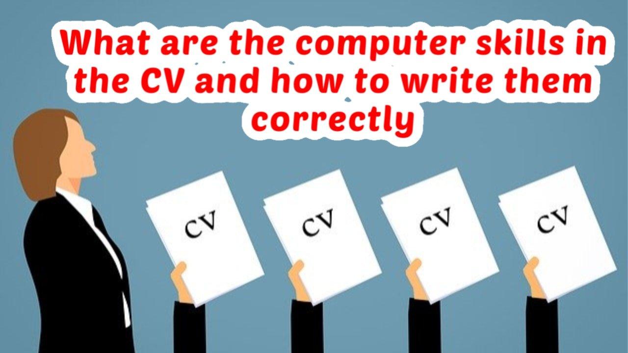 Computer skills- computer skills for rComputer skills- computer skills for resumeesume