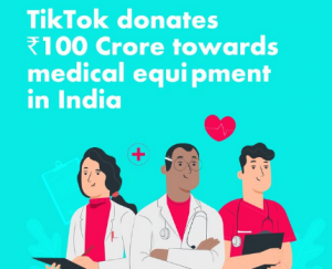 Tik Tok donation amounts: Gave A huge amount with Medical Equipment in Inda, Hats off