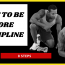 Self discipline - How to be disciplined - 8 Steps to help you be more disciplined